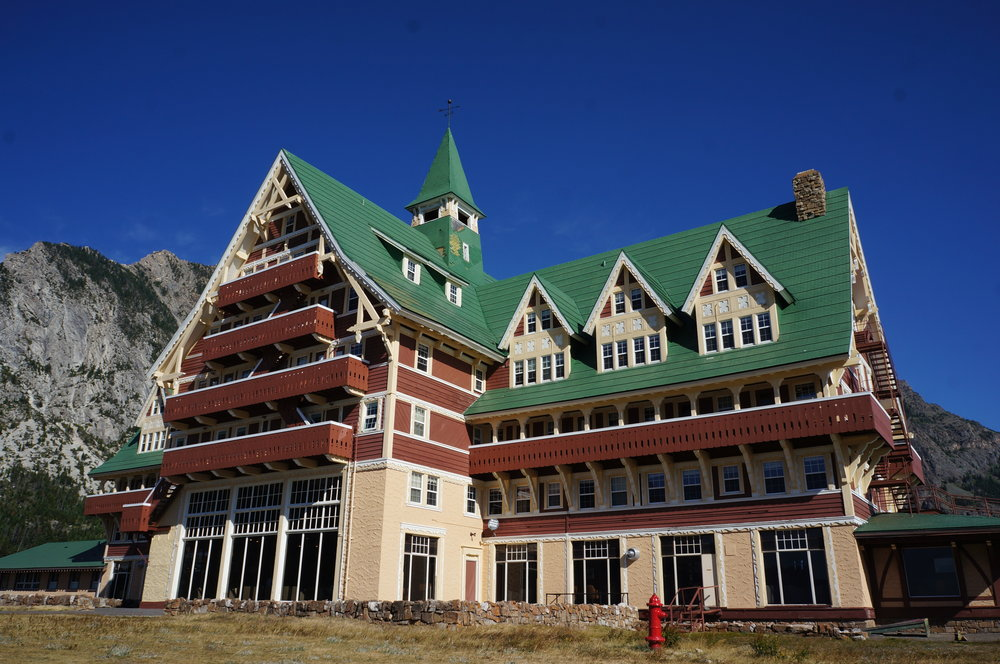 Prince of Wales Hotel, Waterton, Canada.