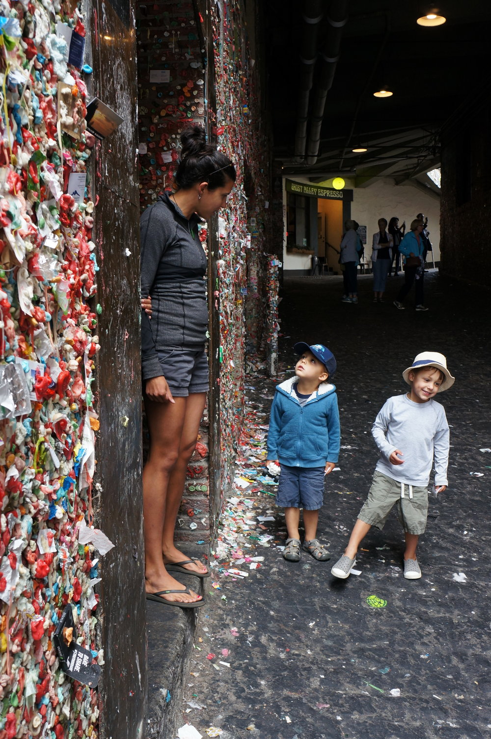 Seattle Gum Wall (EW!)