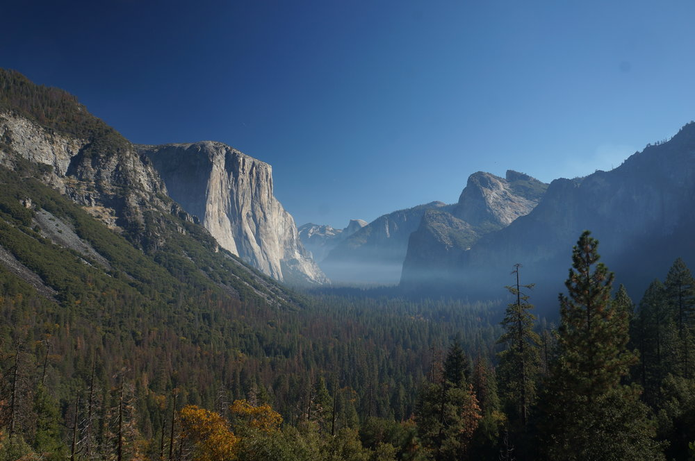 Inspiration Point - Yosemite