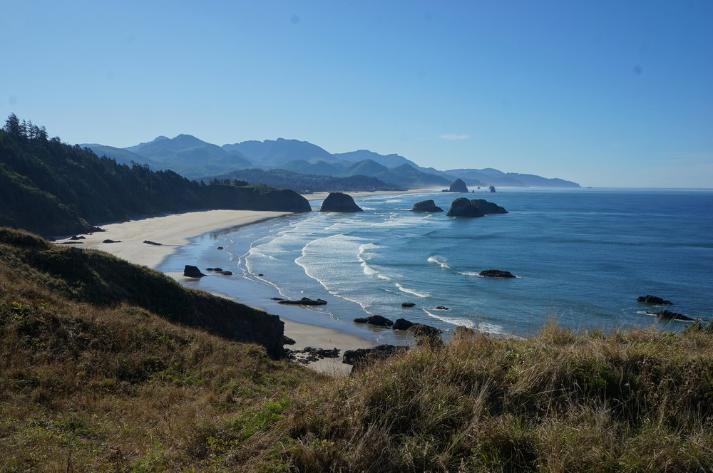 Ecola State Park during the day.