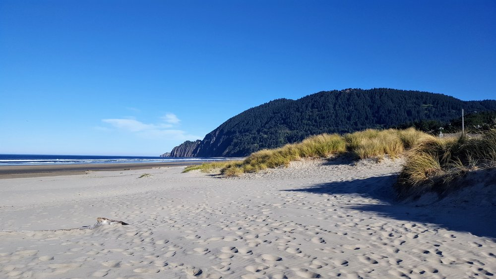 Manzanita Beach - Just a five minute walk from our casa