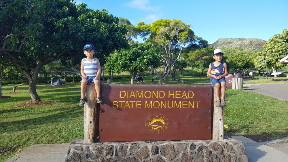 The Diamond Head guards.
