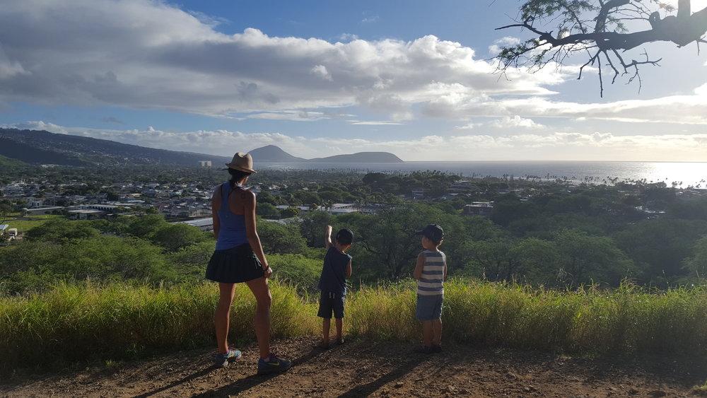 A view looking towards Makapu'u.