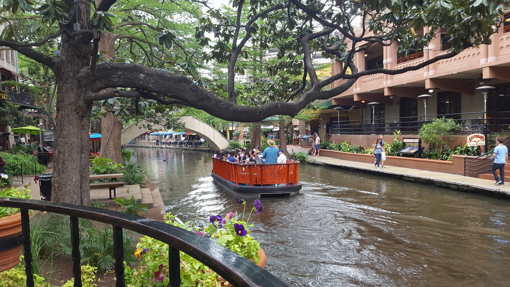 Cute shops and restaurants line the river making it great for people watching & eating all in one!