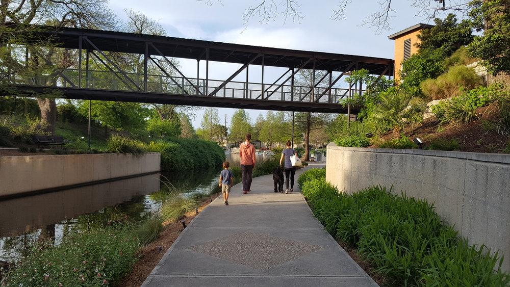 Riverwalking in The Pearl District.