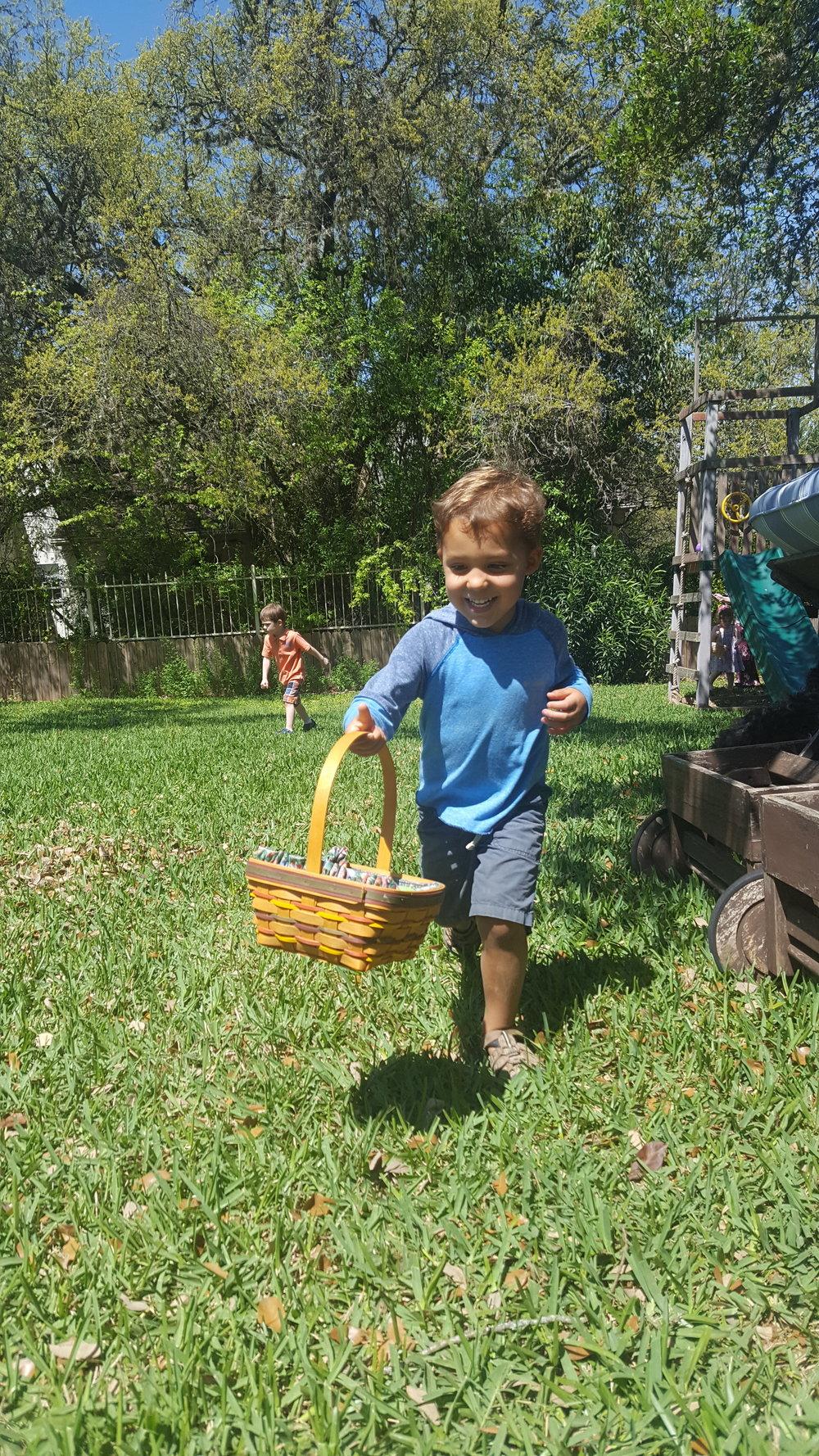 Egg hunting!!!