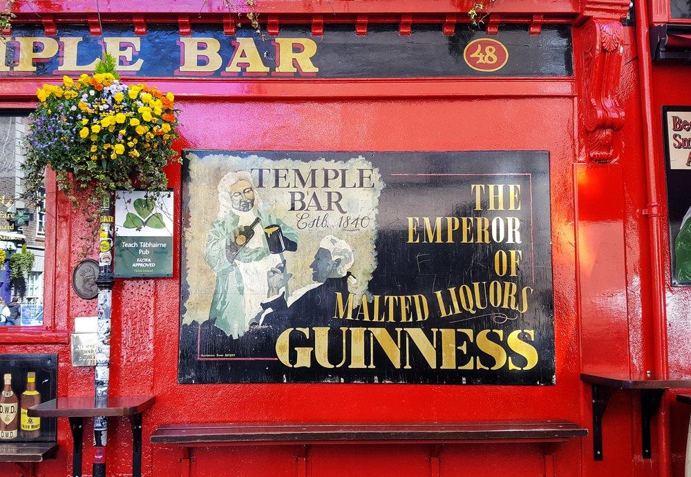 The Temple Bar, Dublin, Ireland