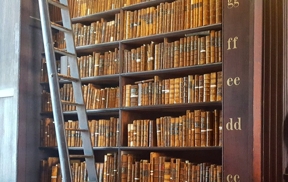 """The Old Library - A collection of """"old"""" books"""