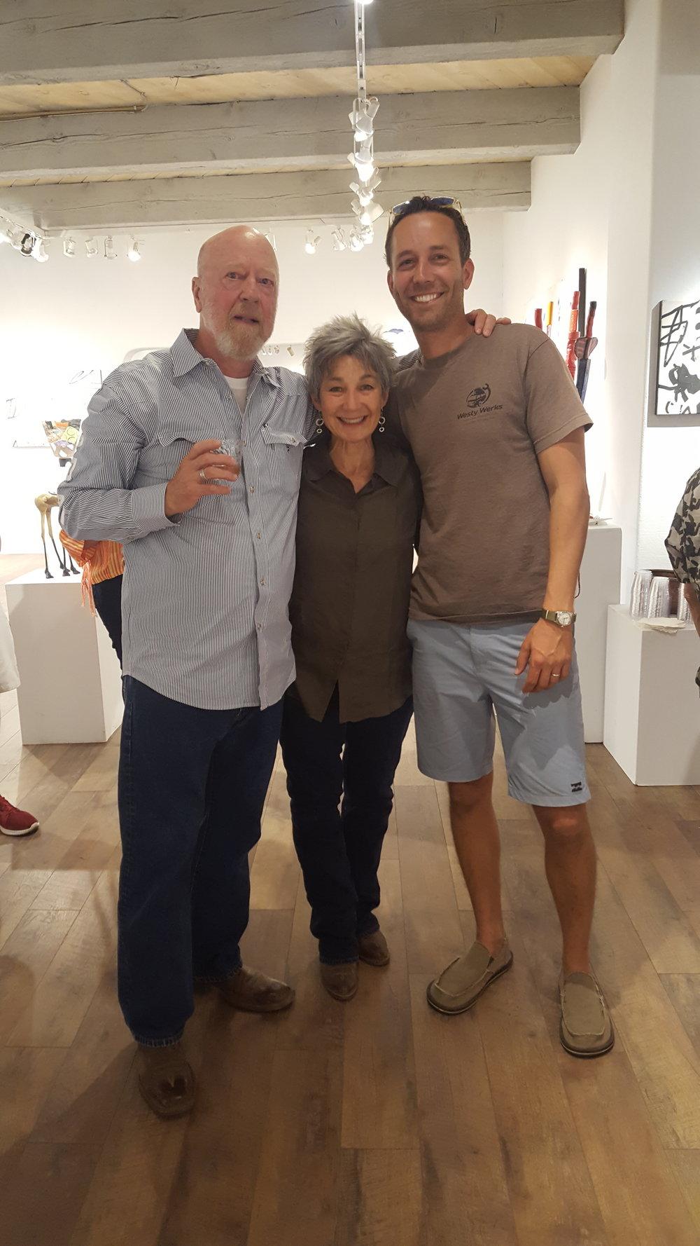 Greg Gummersall's art exhibit at Lanning Gallery, Sedona