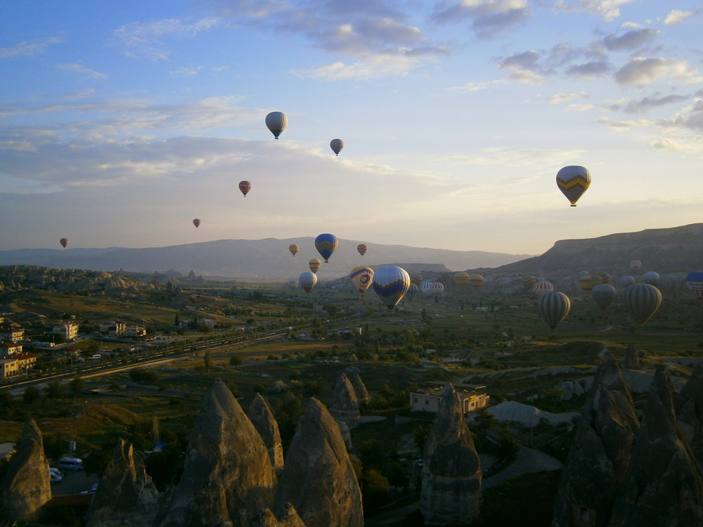 Possibly our favorite spot in all of Turkey??? This whole country is gorgeous but Cappadocia could have been.