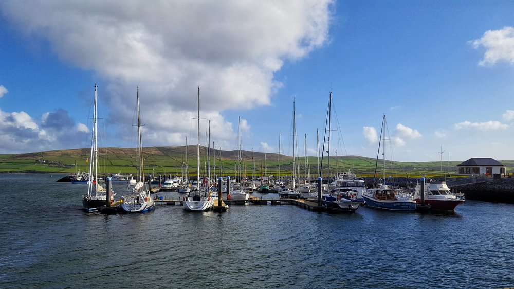 Dingle town Harbor