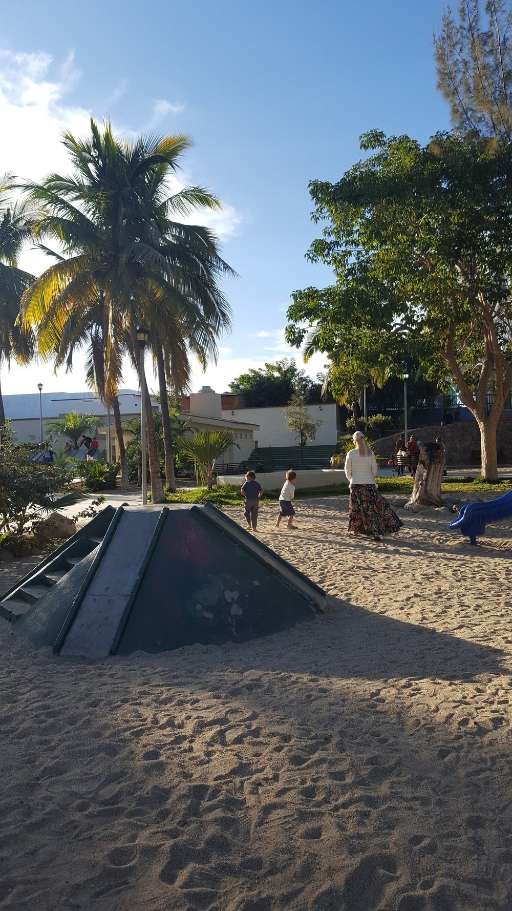 The local in-town playground, Todos Santos
