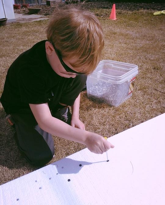 Using screwdrivers
