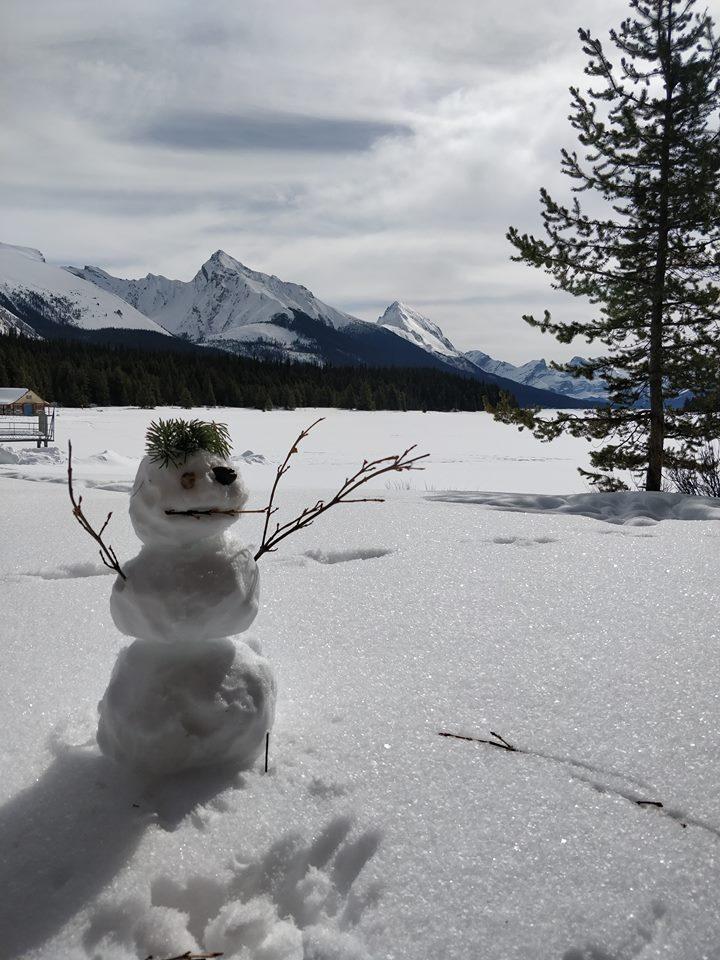 Maligne Lake Snowman.jpg