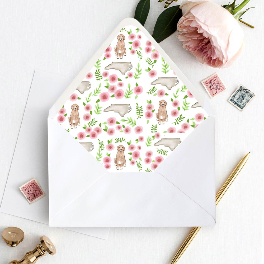 Custom Pattern Envelope Liner