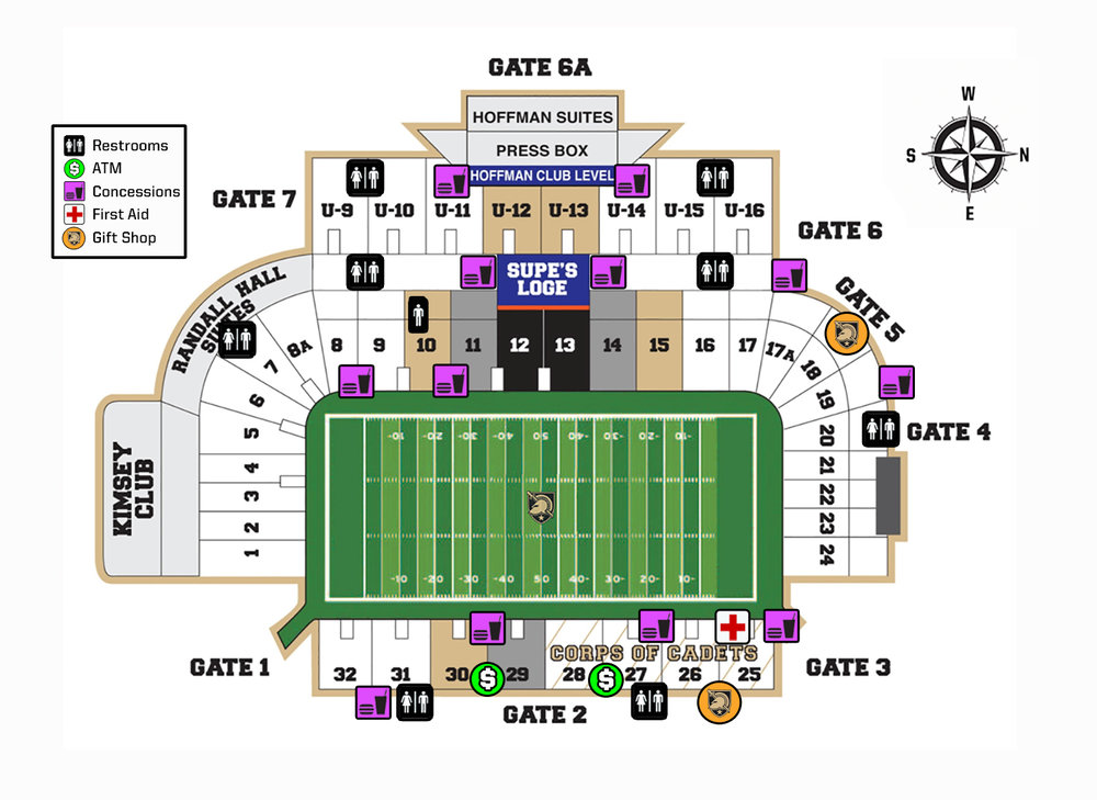 Michie Stadium Pocket Guide Map 2017.jpg