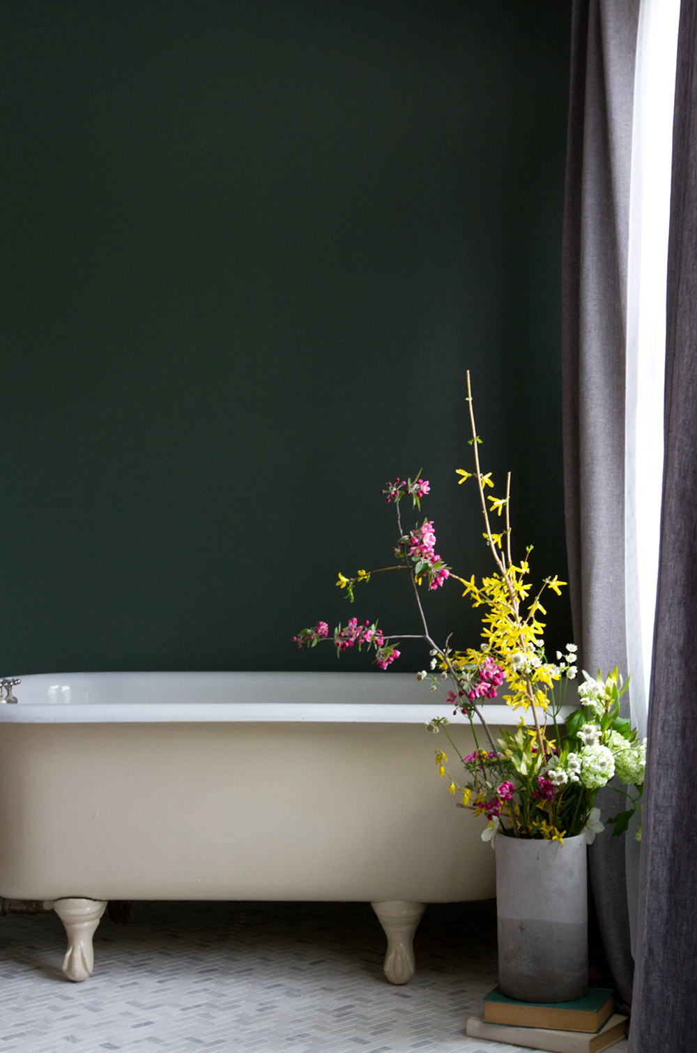 The Rooms - There are 14 guest rooms on property on three floors, some with clawfoot bathtubs and all with private new tile & marble bathrooms with showers. Some rooms offer expansive views of the Willowemoc Valley and River and glimpses of the mountains providing trails for guests. Guestrooms feature straightforward, clean design details that aim to bring a sense of calm. Down duvets, Sferra linens, and Malin & Goetz toiletries are provided throughout your stay.