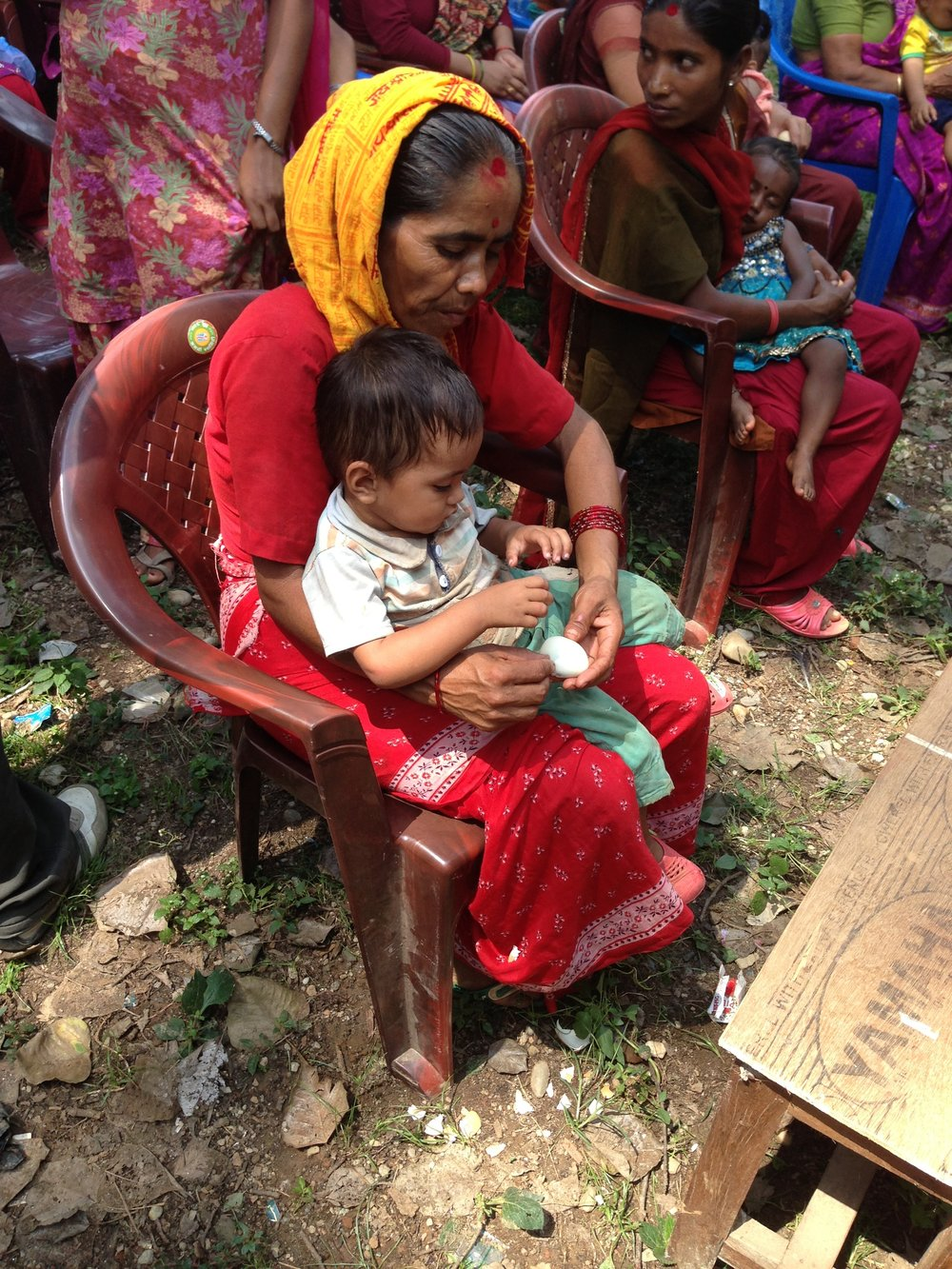 Improving Early Childhood Nutrition & Maternal Health, Nepal