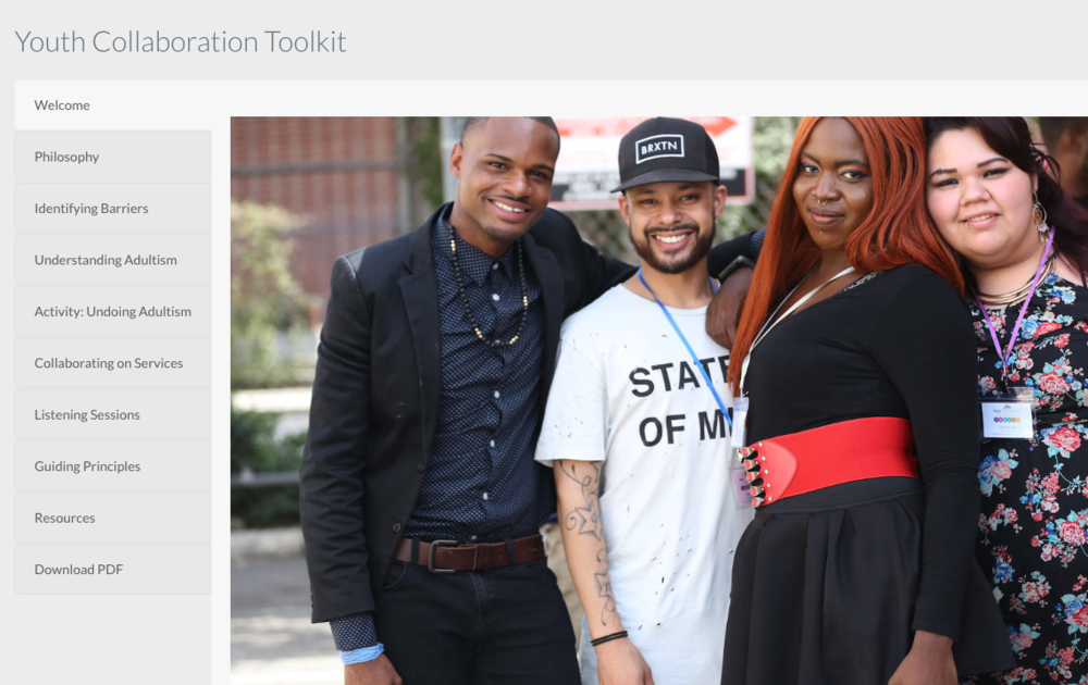 True Colors Youth Collaboration Toolkit