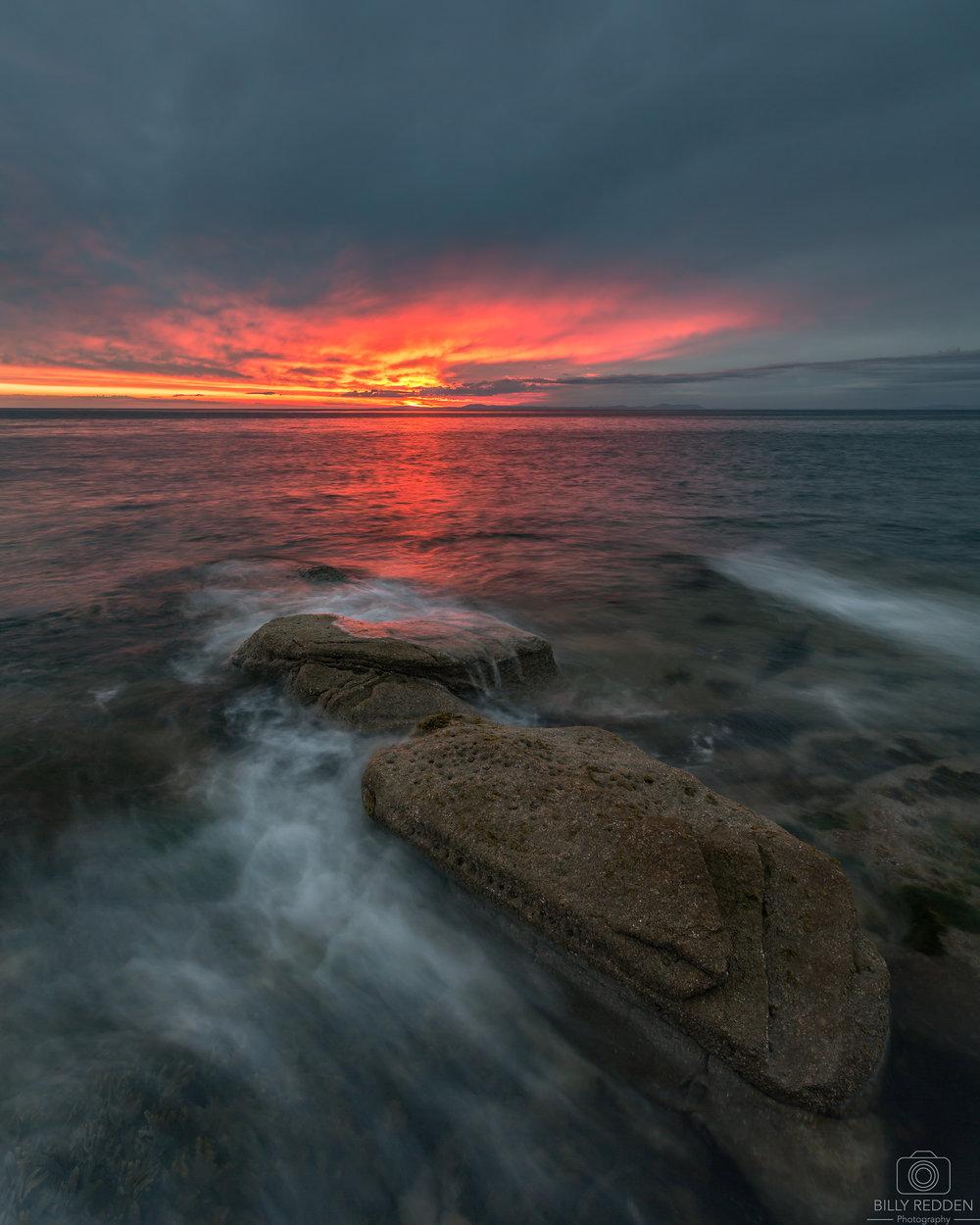 Parton Sunset