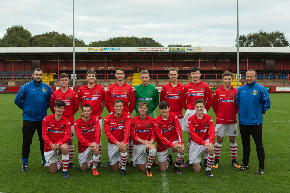 Workington AFC Reserves 2017/18