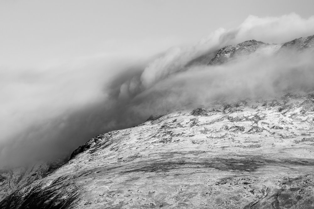 Scafell Clouds