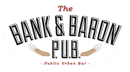 THE BANK & BARON PUB   __________   The Beer:  2515 Lager   The Dish:  Swiss cheese & 2515 crafted lager fondue beer dip. Served with fresh baked flatbread!  In Support of:   Hockey Education Reaching Out Society     Price:  $20