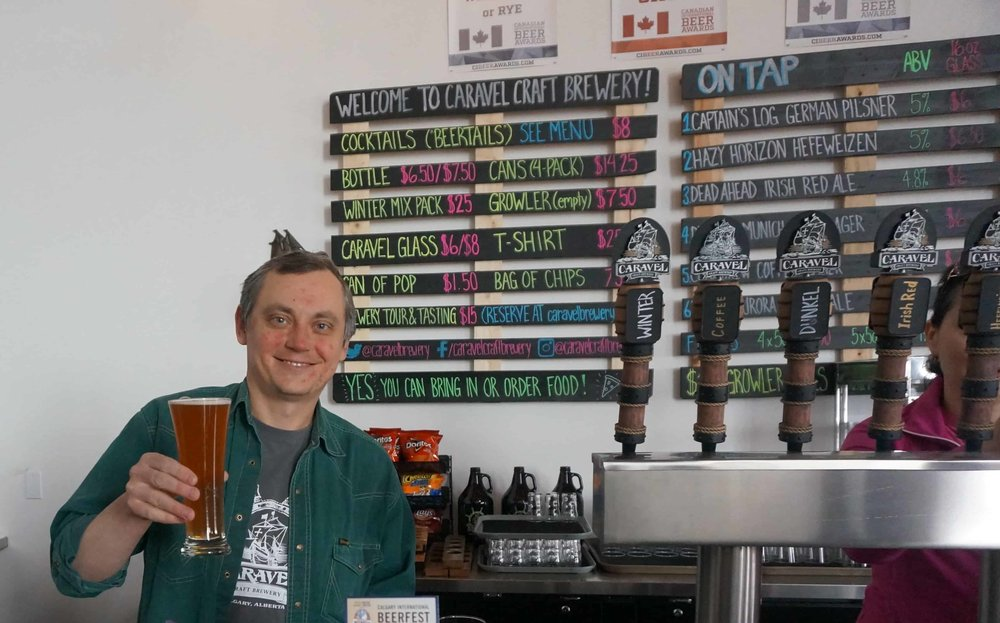 Co-founder & Co-owner,  Caravel Craft Brewery ,  Vlad Covali