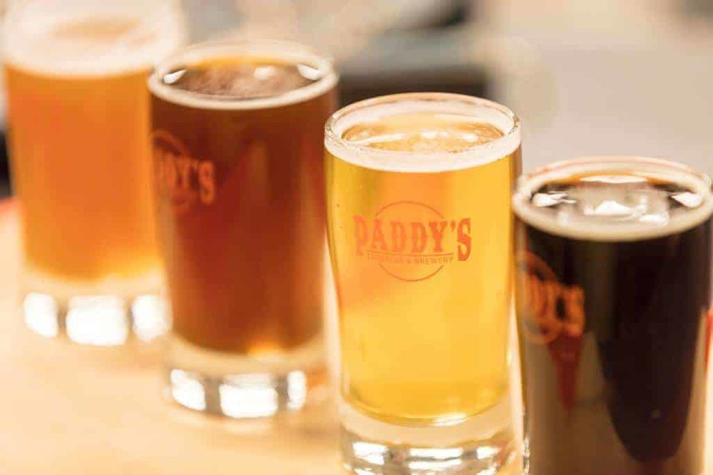 The  Paddy's  craft beer lineup!