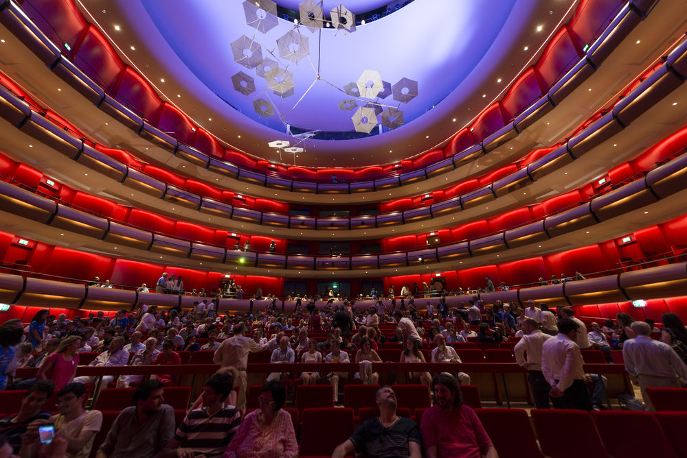 Stavros Niarchos Foundation Cultural Center, opera house audience. © Yiorgis Yerolymbos. Courtesy of the Stavros Niarchos Foundation.