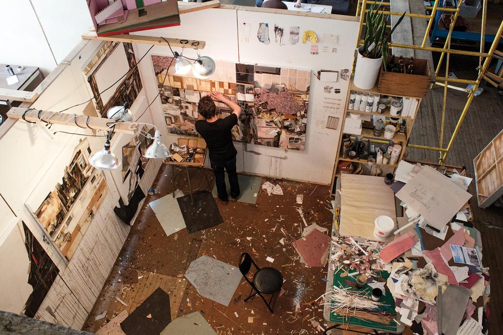 Seth Clark in his studio. Courtesy of Seth Clark.