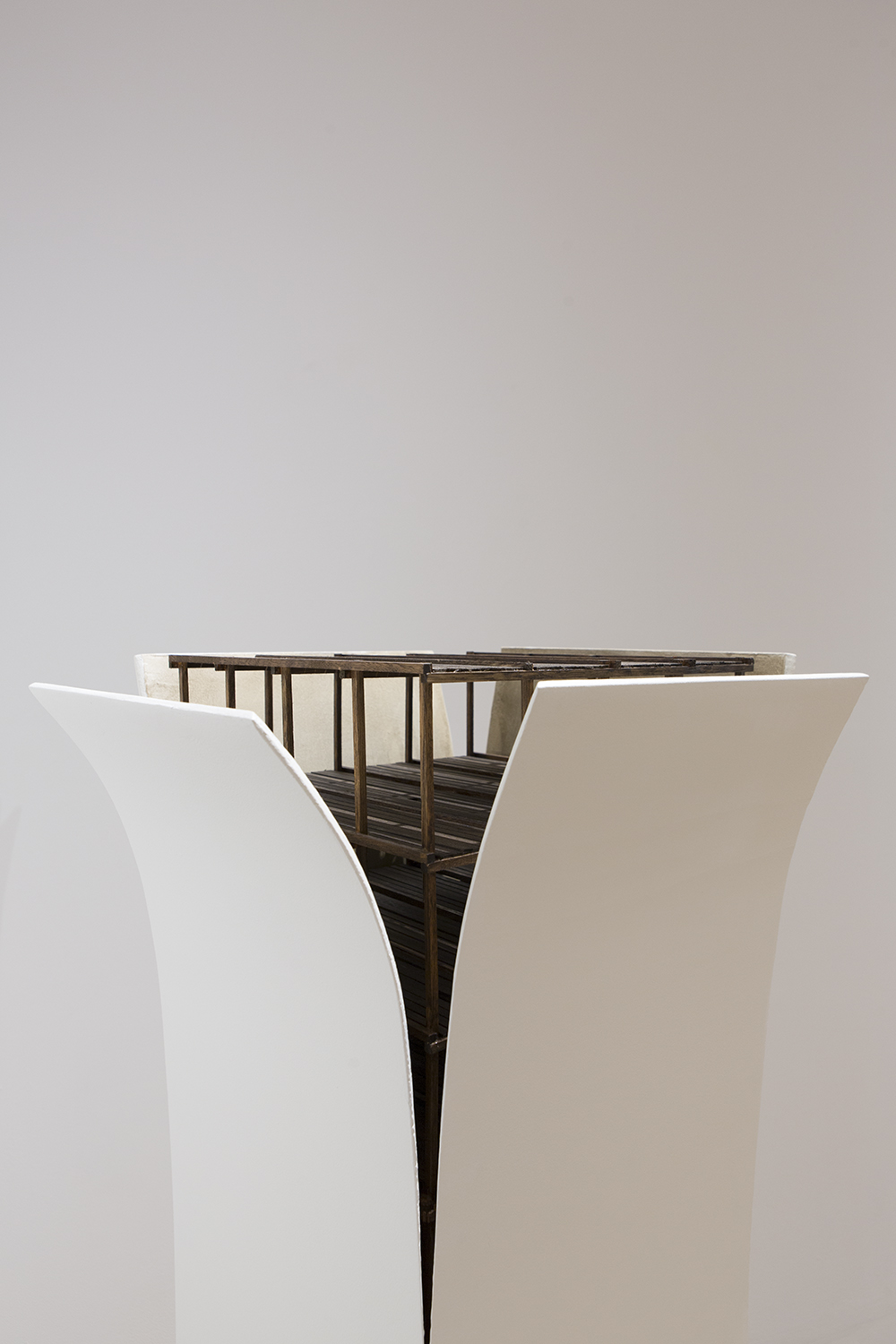 Pedestal piece from Clark's  2015 Emerging Artist of the Year  exhibit at Pittsburgh Center for the Arts. Courtesy of Seth Clark.