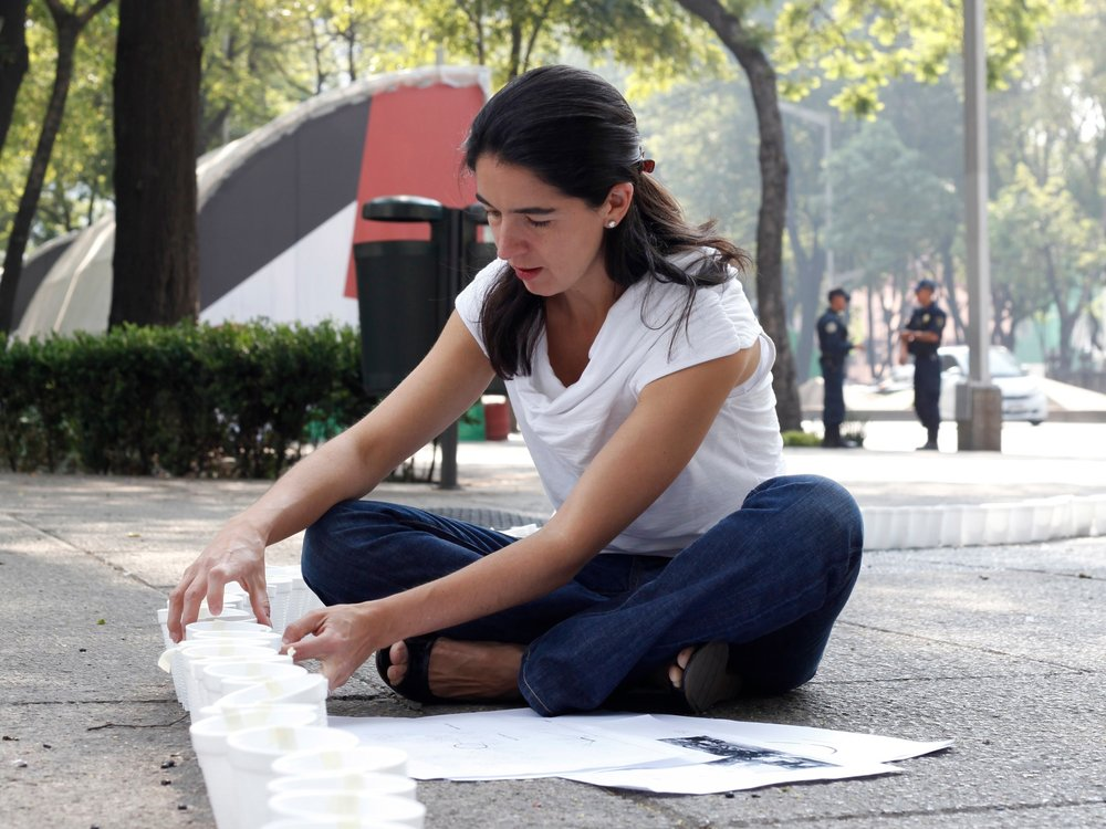 Fernanda Canales at work. Courtesy of Fernanda Canales.