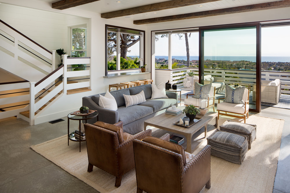 GRANADOS AVENUESolana Beach, CA - Client: Young Family, Community SocialitesStyle: Modern Coastal FarmhouseScraped down to the bones, only a single interior wall remaining, this home remodel was every designers dream, with exceptionally wonderful clients that appreciated the process of design. There is so much to say about this amazing home, so Luxe Magazine covered the story in a 13-page spread!Check out our article in Luxe Interiors + Design Magazine here!