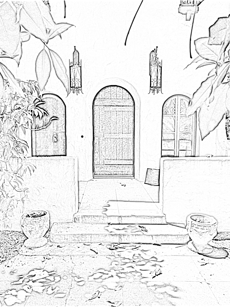 PASADENA - Spanish Restoration