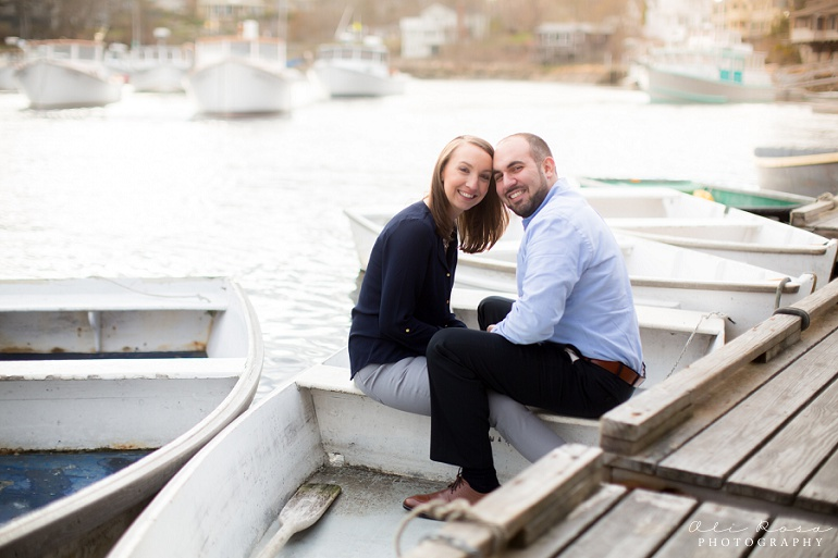 marginal way ogunqui maine engagement photost 13