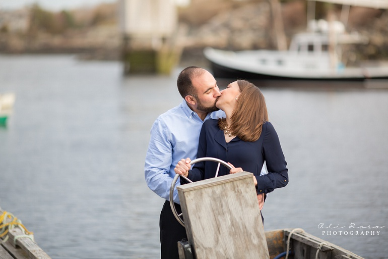 marginal way ogunqui maine engagement photost 16