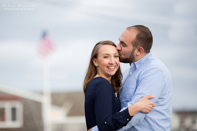 marginal way ogunqui maine engagement photost 17