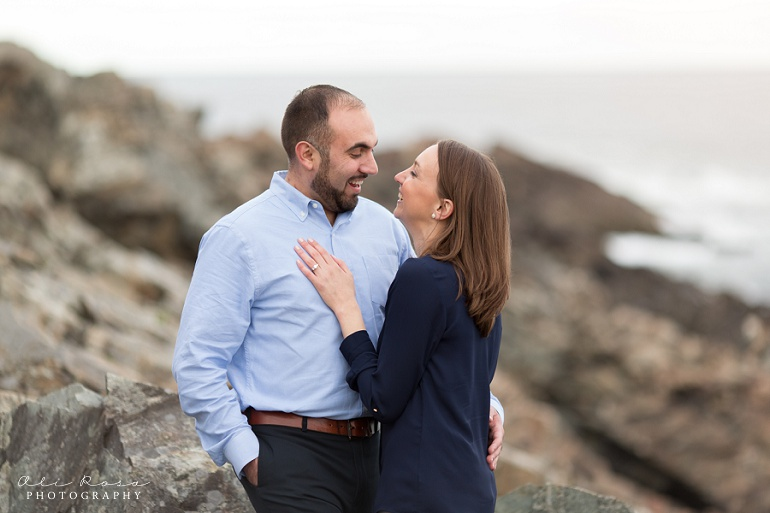 marginal way ogunqui maine  engagement photost 20