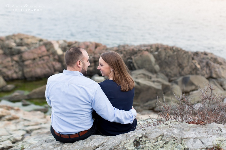 marginal way ogunqui maine engagement photost 23