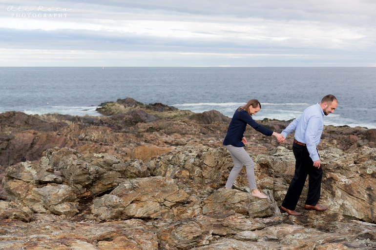 marginal way ogunqui maine  engagement photost 28