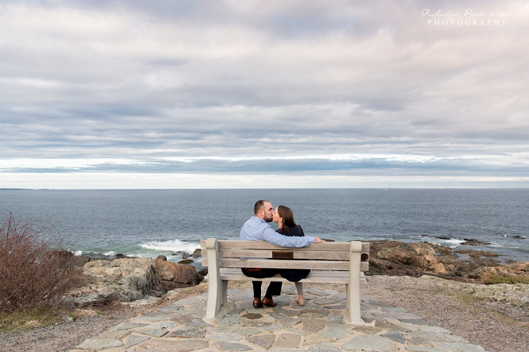 marginal way ogunqui maine engagement photost 30