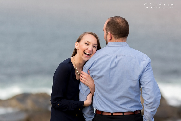 marginal way ogunqui maine engagement photost 32