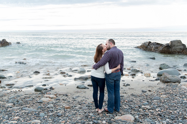 marginal way ogunqui maine engagement photost 42
