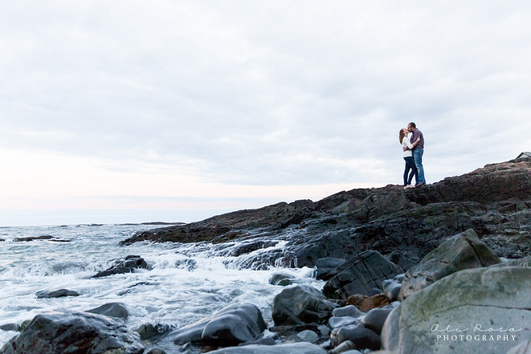 marginal way ogunqui maine engagement photost 48