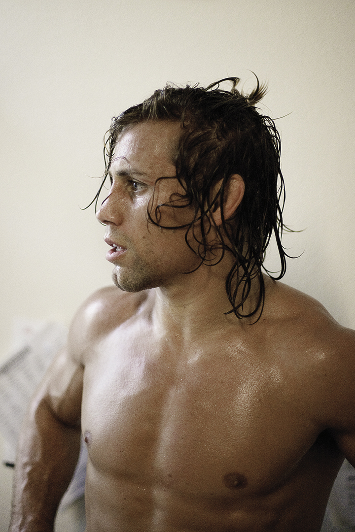 MMA Fighter Urijah Faber for K-Swiss.