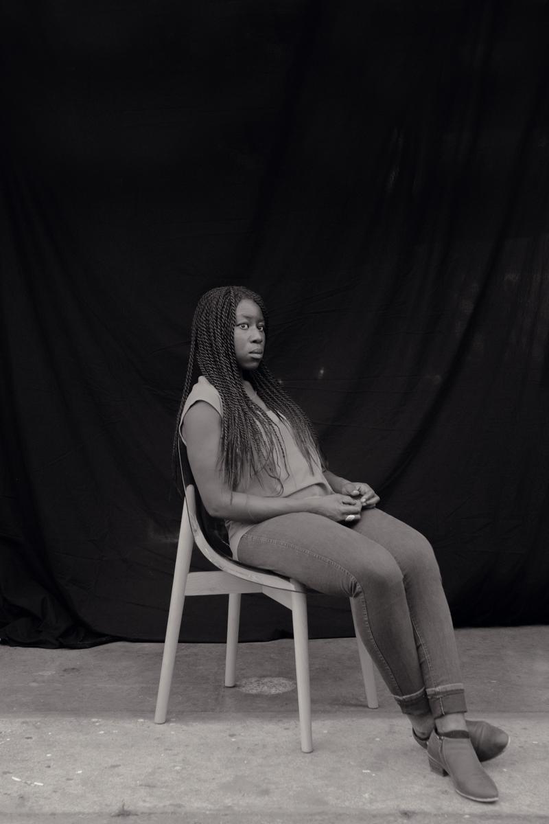 Writer/Editor Nana Twumasi.
