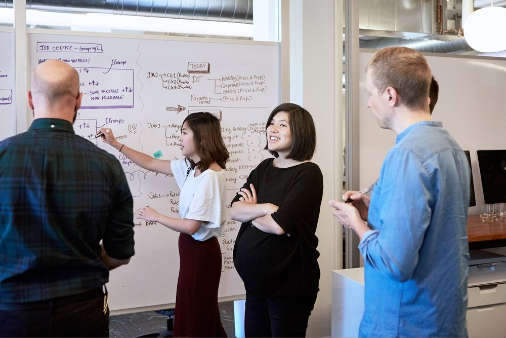 Audrey Liu, Director of Product Design at Thumbtack for Designer Fund.
