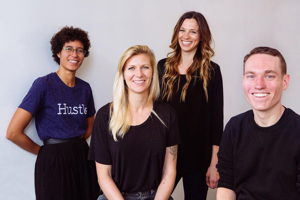 Hustle design team