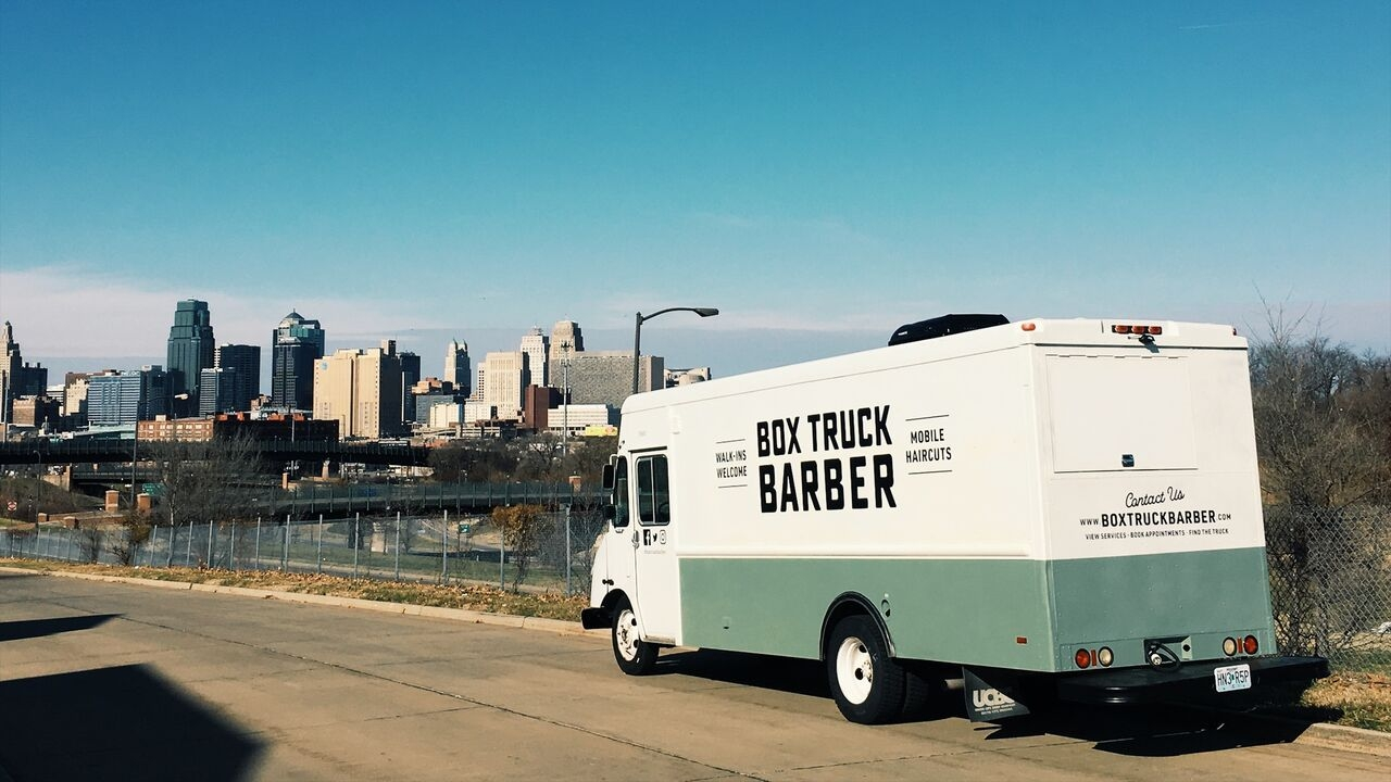 Box Truck Barber